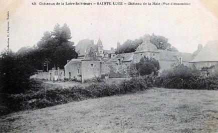 Château de la Haie – Sainte Luce sur Loire
